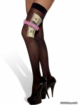 Hustler Cash Money Thighhighs