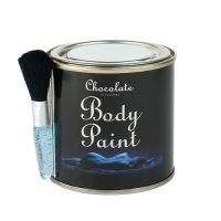 Body Chocolate and Brush