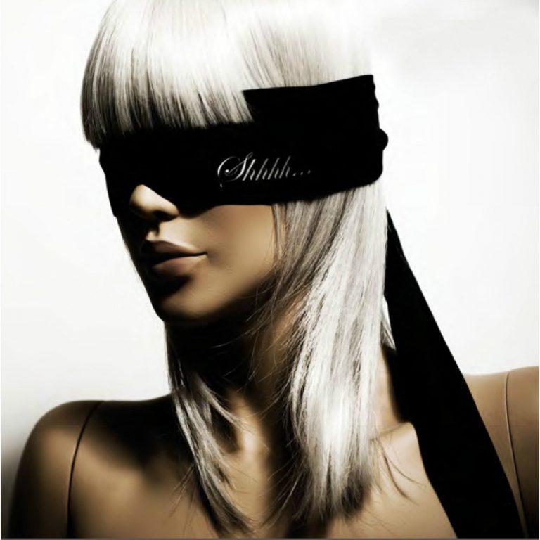 Bijoux Indiscrets Shhh Satin Luxury Blindfold