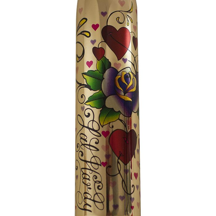 Rocks Off RO160 Tattoo Vibrator Hearts and Roses