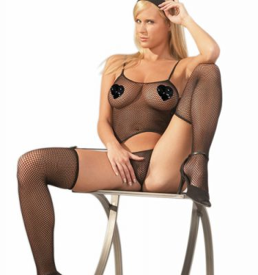 Fishnet Lingerie Set