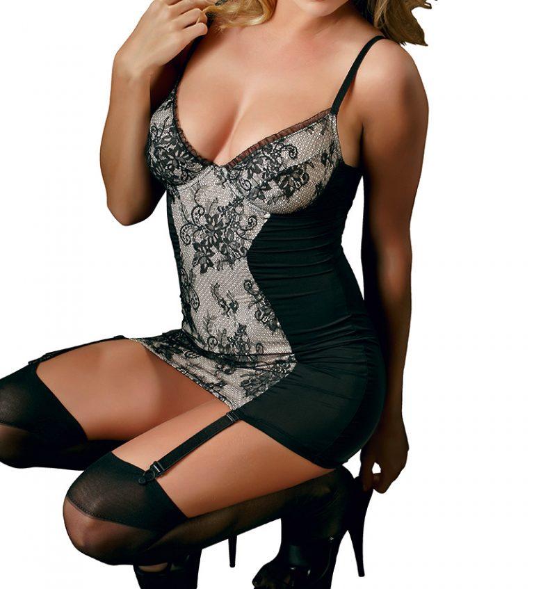 Cottelli Garter Dress