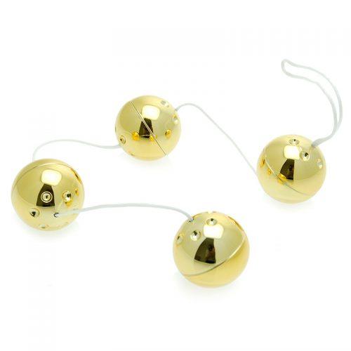 4 Gold Vibro Balls