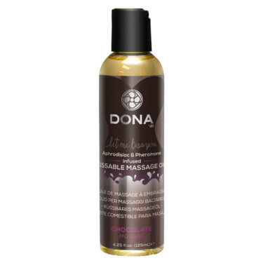 DONA Kissable Massage Oil Chocolate Mousse 110ml