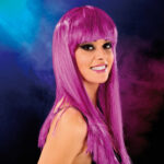 Cabaret Wig Purple Long
