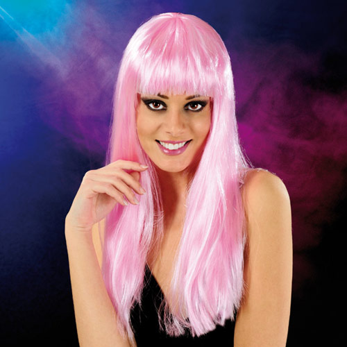 Cabaret Wig Light Pink Long