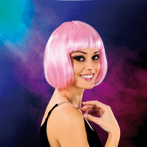 Cabaret Wig Light Pink Bob