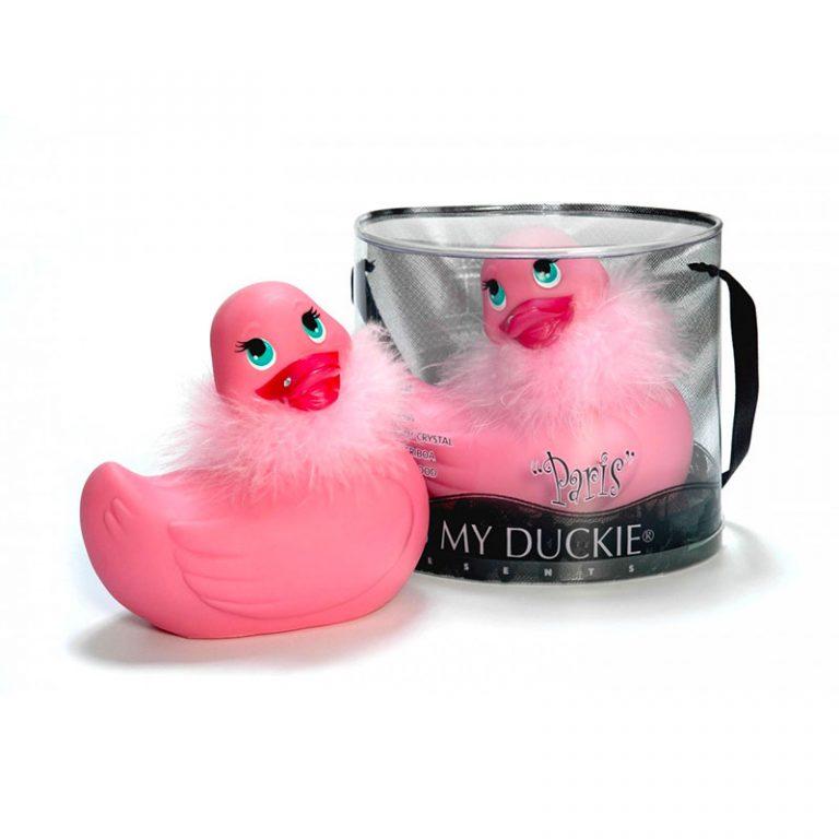 I Rub My Paris Duckie (Pink)
