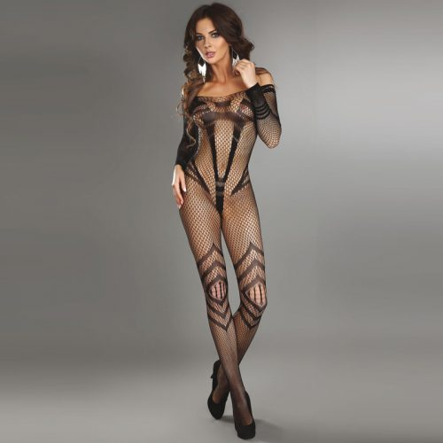 Corsetti Siriana Bodystocking Black UK Size 8 to 12