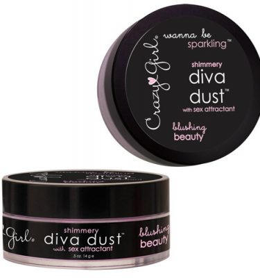 Crazy Girl Wanna Be Sparkling Shimmery Diva Dust Blushing