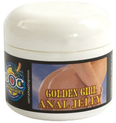 Golden Girl Desensitizing Anal Jelly Lubricant