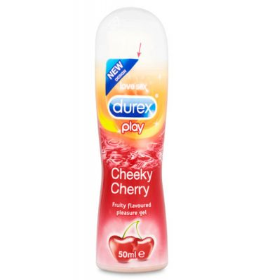 Durex Play Cherry Lubricant 50mls