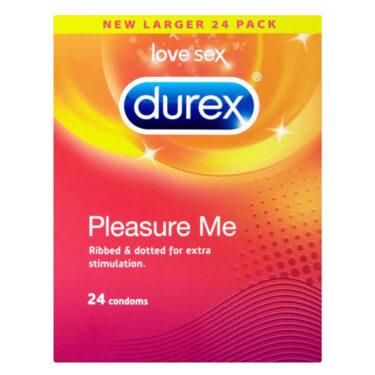Durex Pleasure Me 24 Pack Condoms
