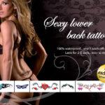 Tattoo Set Sexy Loxer Back