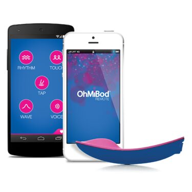 OhMiBod Bluemotion App Controlled Massager