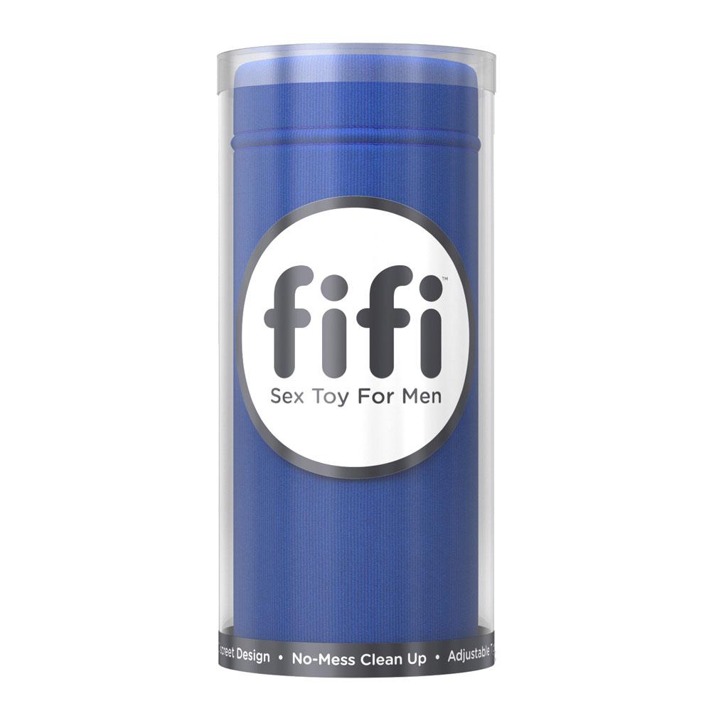 Fifi Masturbator Blue With 5 Disposable Sleeves Twisted Miss Tenga Deepthroat Us Ultra Size