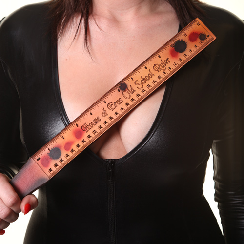 House Of Eros Leather Old School Ruler