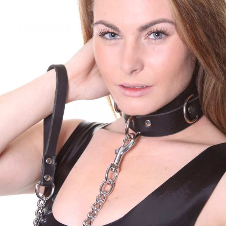 House Of Eros Collar And Heavy Chain