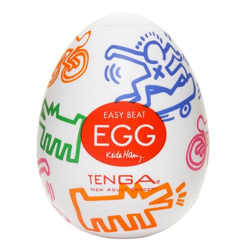 Tenga Keith Haring Street Egg Masturbator