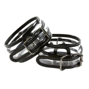 Bare Bondage Clear Vinyl Ankle Cuffs