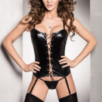 Passion Bes Corset Black