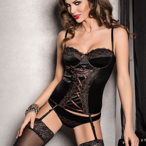 Passion Evane Corset Black