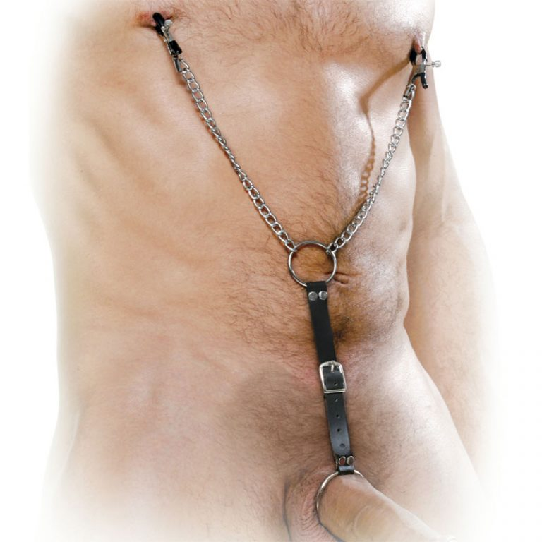 Fetish Fantasy Series Nipple Clamps And Cockring Set