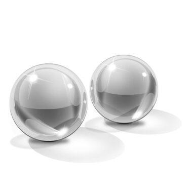 Icicles No 41 Small Hand Blown Glass Ben Wa Balls