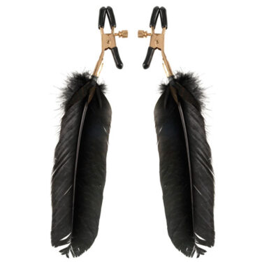 Fetish Fantasy Series Gold Fantasy Feather Clamps