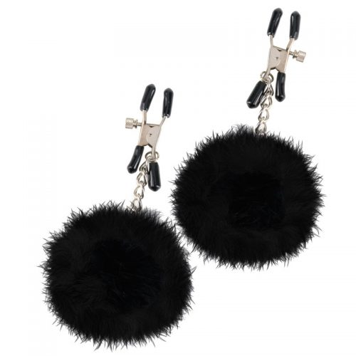 Fetish Fantasy Series Pom Pom Nipple Clamps
