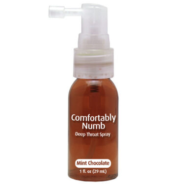 Comfortably Numb Deep Throat Spray Mint Chocolate