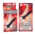 Accommodator Dual Penetrator Black Dildo