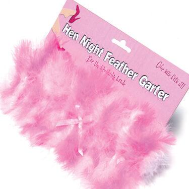 Hen Night Feather Garter