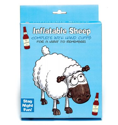 Inflatable Sheep And Handcuffs