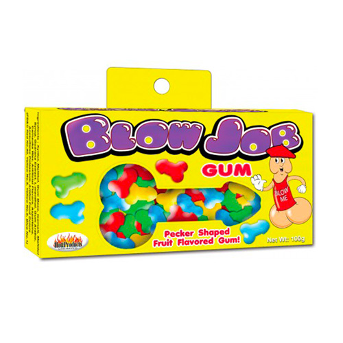 Blow Job Fruit Flavored Pecker Gum