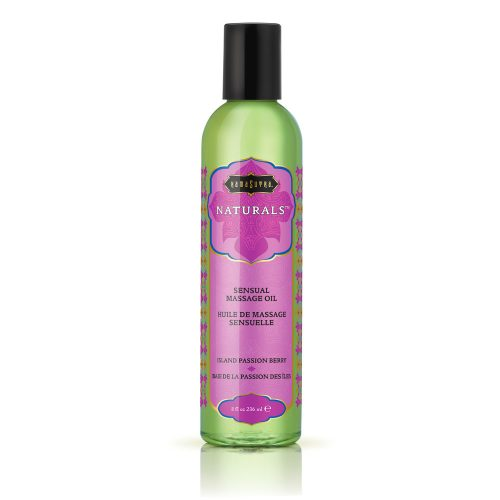 Kama Sutra Naturals Massage Oil Island Passion Berry