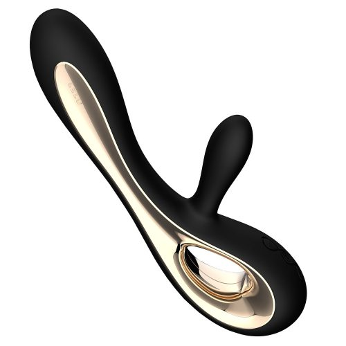 Lelo Soraya Black Dual Waterproof Rechargeable Vibrator