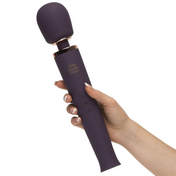 Fifty Shades Freed Awash with Sensation Main Wand Vibrator UK