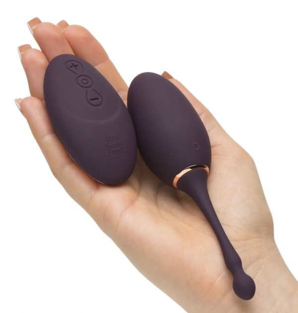 Fifty Shades Freed Ive Got You Rechargeable Remote Control Egg