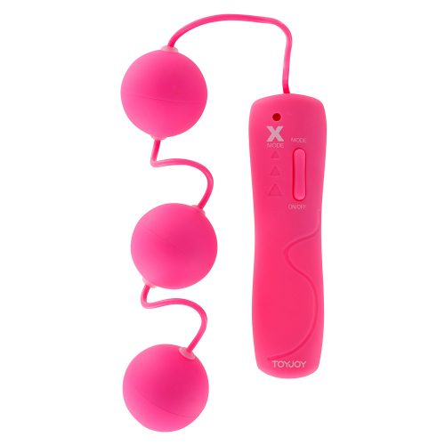 Funky Triple Power Balls Pink Vibrating