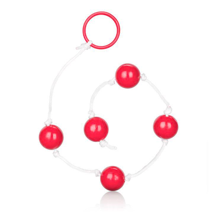 Medium Pleasure Anal Beads Assorted Colours
