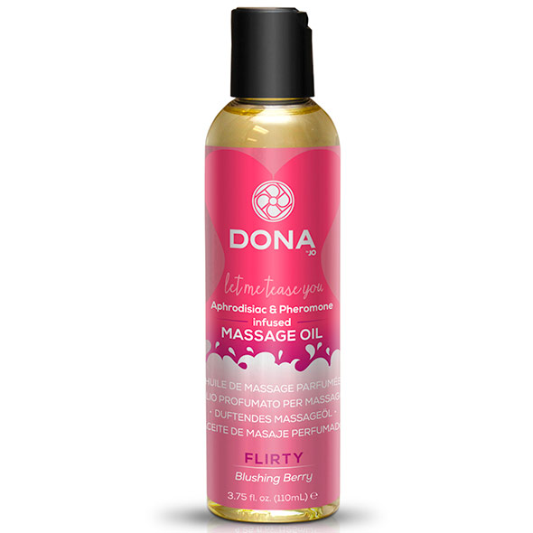DONA Flirty Blushing Berry Massage Oil 110ml