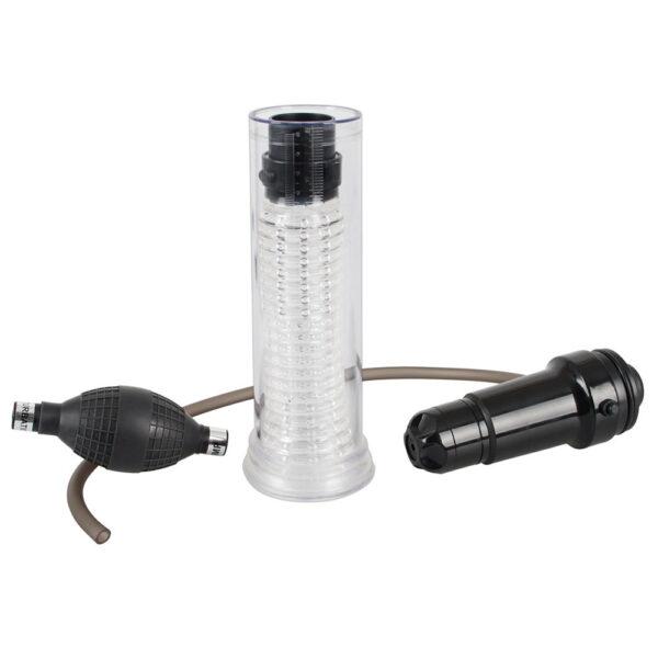 Vibrating Multi Pump 2 In 1 Masturbator