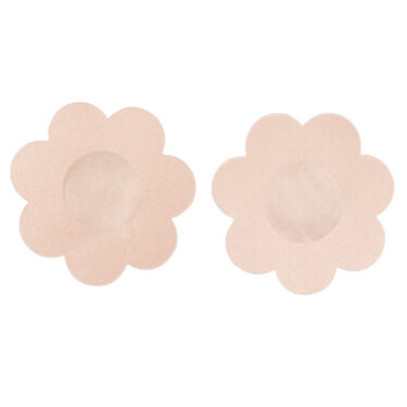 6 Pairs Of Flesh Coloured Nipple Covers