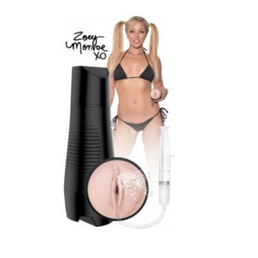 Pornstar Zoey Monroe Squirting Pussy Masturbator